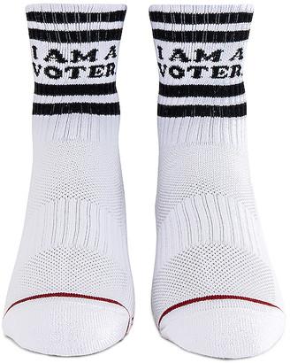 Mother X I Am A Voter Socks