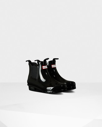 Hunter Big Kids Gloss Chelsea Boots
