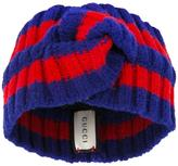 Gucci Web striped head band - women - Polyamide/Polyester/Spandex/Elastane/Wool - One Size