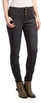 Black Mid-Rise Skinny Jeans
