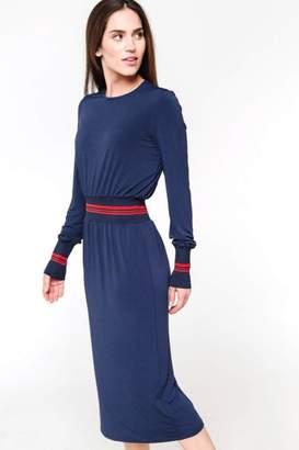De Collection Stripe Trim Dress