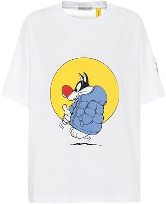 MONCLER GENIUS 1 MONCLER JW ANDERSON cotton jersey T-shirt