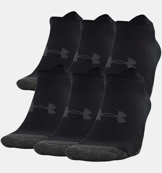 Under Armour Unisex UA Performance Tech No Show Socks 6-Pack