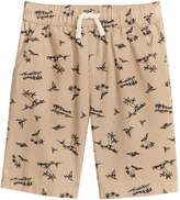 Epic Threads Palm-Print Cotton Shorts, Toddler Boys, Created for Macy's