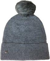 UGG Women's Luxe Cuff Hat W/ Oversized Toscana Pom