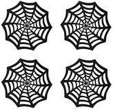 John Lewis Web Coasters, Black, Set of 4