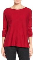 Eileen Fisher Petite Women's Merino Jersey Boxy Sweater