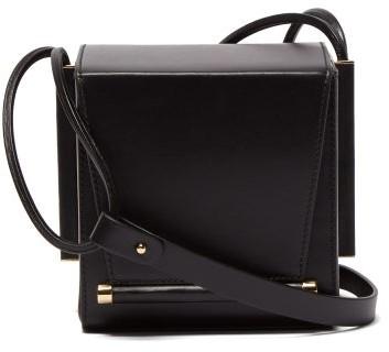 Roksanda Box Leather Cross-body Bag - Black
