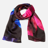 Ted Baker Women's Ivian Impressionist Bloom Long Scarf - Black