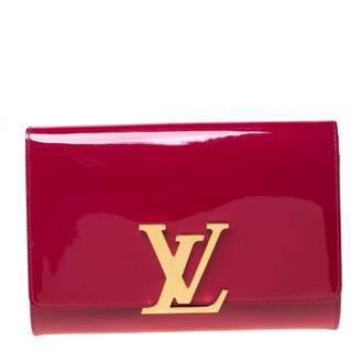 Louis Vuitton Louise Pink Patent leather Clutch bags