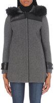 Claudie Pierlot Great bis wool-blend coat