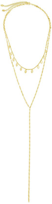 Sterling Forever 14K Over Silver Layered Necklace