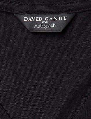 David Gandy For AutographMarks and Spencer Stay Soft Short Sleeve Vest