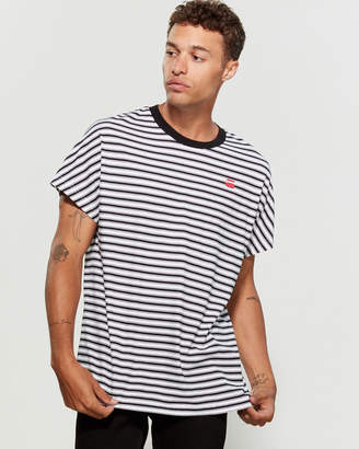 G Star Raw Collyde Striped Short Sleeve Tee