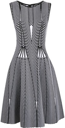 Antonino Valenti Geometric Print Sleeveless Dress