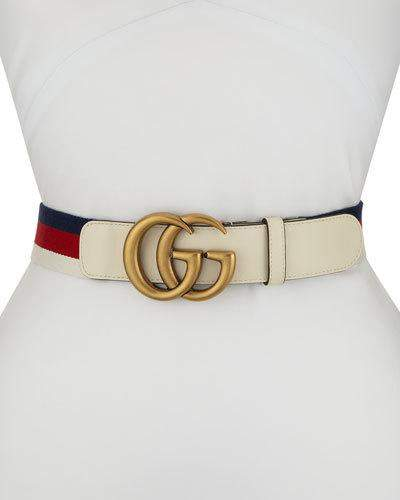 807ad2ab2b07 Gucci White Belts For Women - ShopStyle Canada