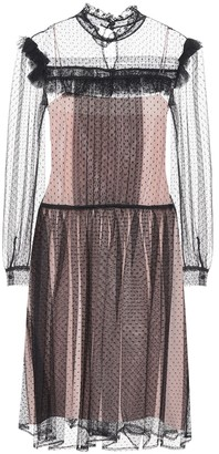 Miu Miu Gathered tulle dress