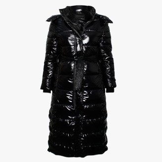 Oakwood Leane Black Padded Longline Coat