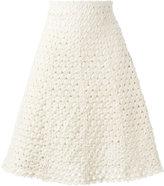 Sonia Rykiel knitted a-line skirt