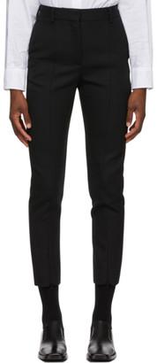 MM6 MAISON MARGIELA Black Wool Trousers