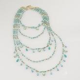 Ralph Lauren Five-Row Turquoise Necklace