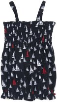 Hatley Smocked Bubble Top (Toddler/Kid)-Scattered Sails-5
