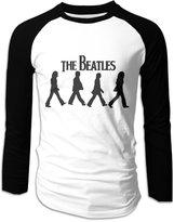 CA99 FREE Men's Long-Sleeve Rock Band The Beatles Music Baseball Raglan Shirt Jersey