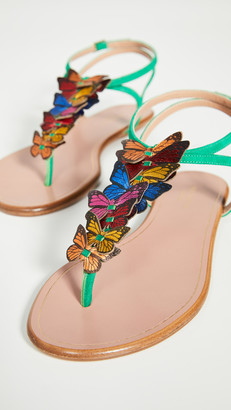 Aquazzura Papillon Sandal Flats