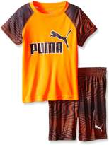 Puma Boys' Performance Two Piece Tee and Short Set