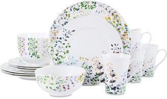 Mikasa Tivoli Garden 16-Pc. Dinnerware Set, Service For 4
