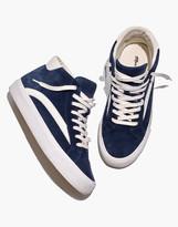 Madewell Men's Sidewalk High-Top Sneakers in Suede