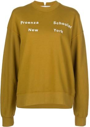 Proenza Schouler White Label Logo Print Sweatshirt
