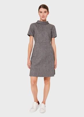 Hobbs Martha Wool Blend A Line Dress
