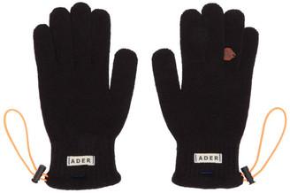 Ader Error Black String Gloves