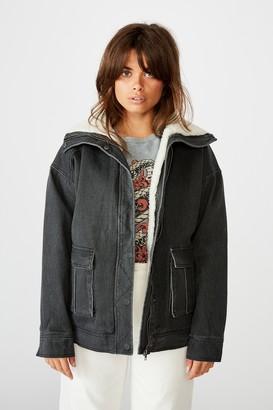 Factorie Utility Sherpa Jacket