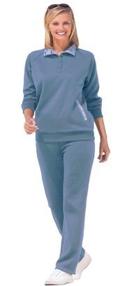 Damart Ex Long Sleeve Leisure Suit. PLUS Size 30-32 (Blue)