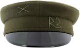 Thumbnail for your product : Ruslan Baginskiy Logo Embroidered Baker Boy Hat
