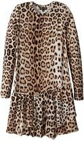 Roberto Cavalli Leopard Dress (Little Kids/Big Kids)