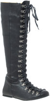 D.Co Copenhagen Leather Knee High Eyelet Boots