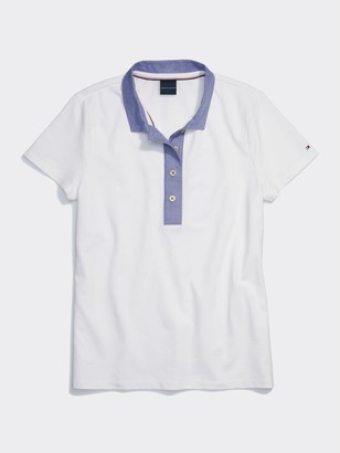 Tommy Hilfiger Wide Placket Polo