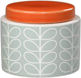 Orla Kiely Linear Stem Storage Jar - Duck Egg - Small