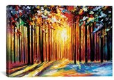 iCanvas 'Sun Of January' Giclee Print Canvas Art