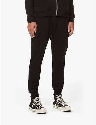 7 For All Mankind Cargo cotton-jersey jogging bottoms