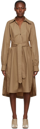 Rika Studios Khaki Fonda Trench Dress