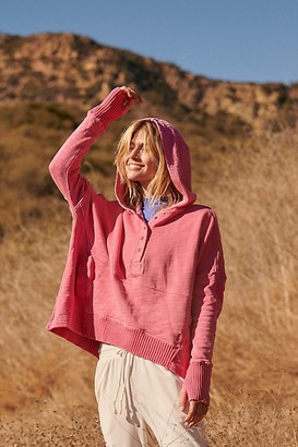 FP Movement Solid Honey Dove Pullover