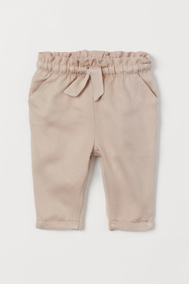 H&M Pants with Cuffs - Beige