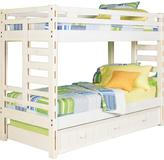 Creekside White Wash Twin/Twin Bunk Bed