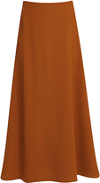 Rosetta Getty Midi Flare Skirt