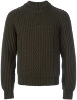 Jil Sander ribbed jumper - men - Wool - 50