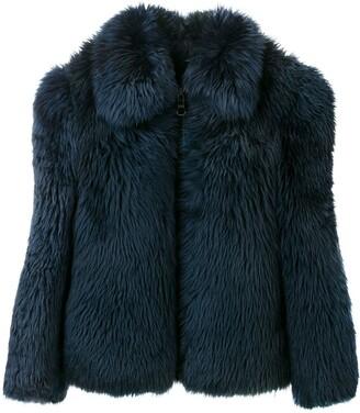 A.N.G.E.L.O. Vintage Cult 1980'S fur bomber jacket